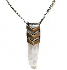 TOMTOM Chevron Aura necklace