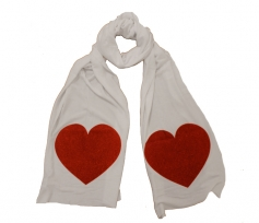 WILDFOX – SPARKLE HEART Scarf
